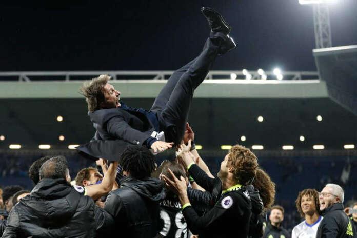 Chelsea Manager Antonio Conte FA Cup