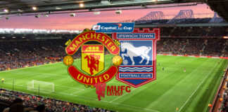 Manchester United vs Ipswich Town