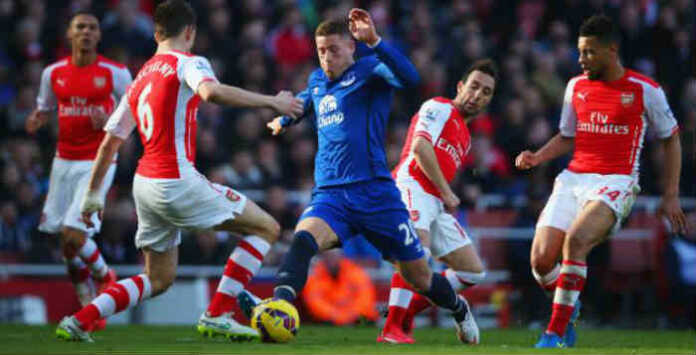 Arsenal Vs. Everton