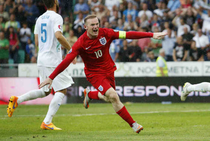 Man United Skipper Wayne Rooney
