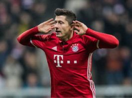 Bayern Munich star Robert Lewandowski