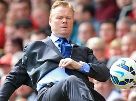 Everton boss Ronalad-Koeman