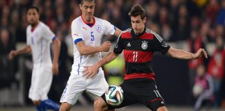 Germany vs Chile confederations cup