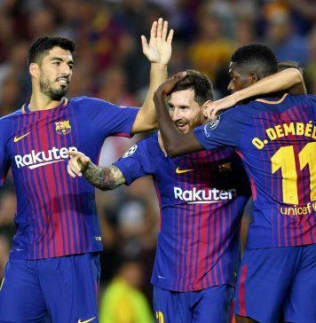 Barcelona vs Juventus-possession