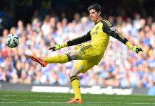Thibaut Courtois Kick